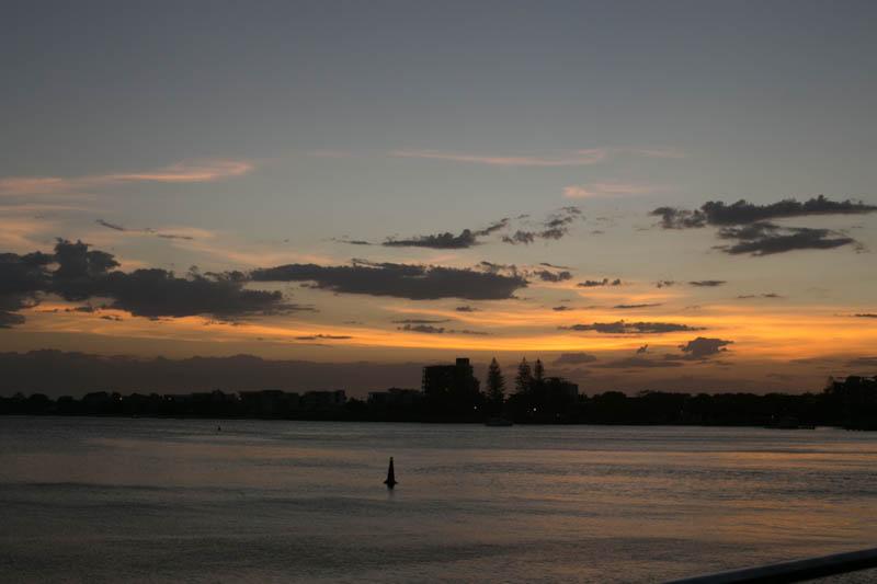 Sunset on Bulcock Beach