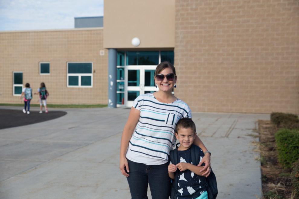 Blake First Day of Kindergarten 2017-3