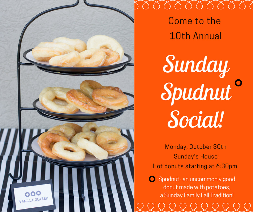 Spudnut Party 2017